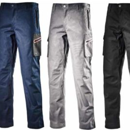 Pantalone da lavoro Cargo Stretch DIADORA Diadora