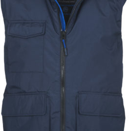 Gilet sagomato con due tasche frontali WANTED Payper